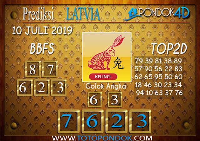 Prediksi Togel LATVIA PONDOK4D 10 JULI 2019