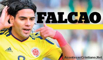 Futbolista cristiano Radamel Falcao