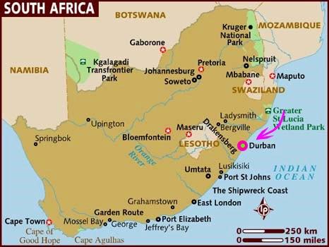 kart sør afrika Hos Vie i Afrika: 18.12 Kart over Sør Afrika kart sør afrika