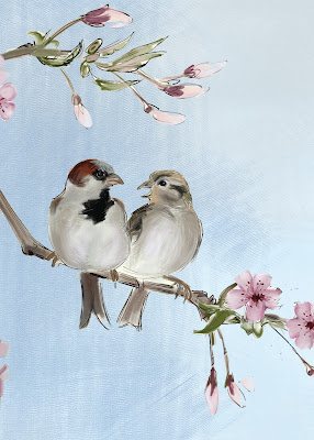 The Gregarious House Sparrows  Passer domesticus