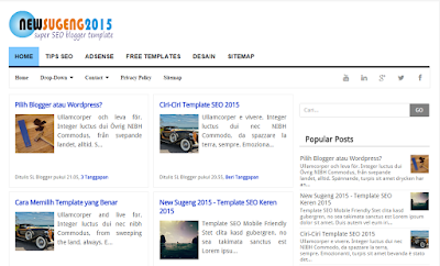 NewSugeng 2015 - Template SEO Responsive Fast Loading