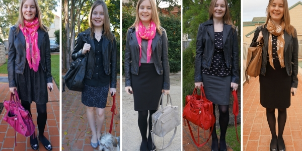 5 ways to wear leather jacket and skirts in winter | Away From Blue blog