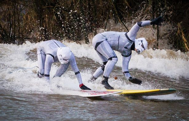 Star Wars Surfers 01