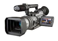 Profesyonel bir kamera