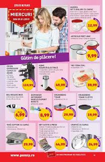catalog penny 9 - 15 ianuarie 2019 oferte espressor ieftin