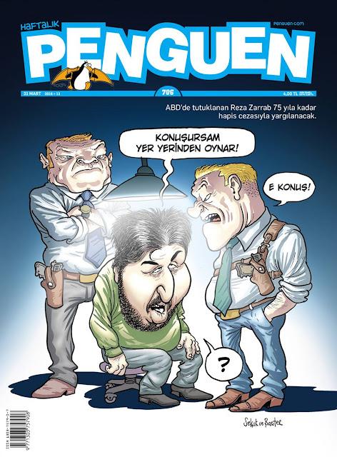 Penguen Dergisi - 31 Mart 2016 Kapak Karikatürü