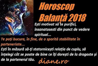 Horoscop 2018 Balanță