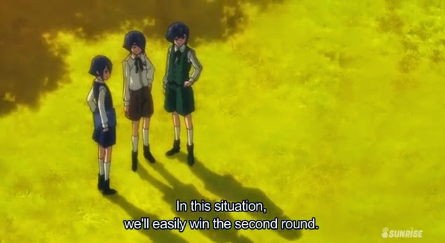 In this situation, we'll easily win the second round. - The SD-R Team