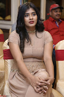 Hebah Patel in Brown Kurti and Plazzo Stuunning Pics at Santosham awards 2017 curtain raiser press meet 02.08.2017 032.JPG