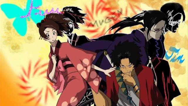 Samurai Champloo - Daftar Anime Samurai Terbaik Sepanjang Masa