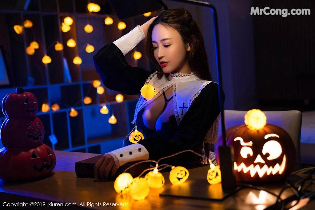 Image XIUREN-No.1802-Zhou-Jing-Kong-MrCong.com-006 in post XIUREN No.1802: Zhou Jing Kong (周井空) (43 ảnh)