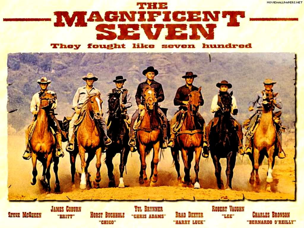 Die Glorreichen Sieben Poster