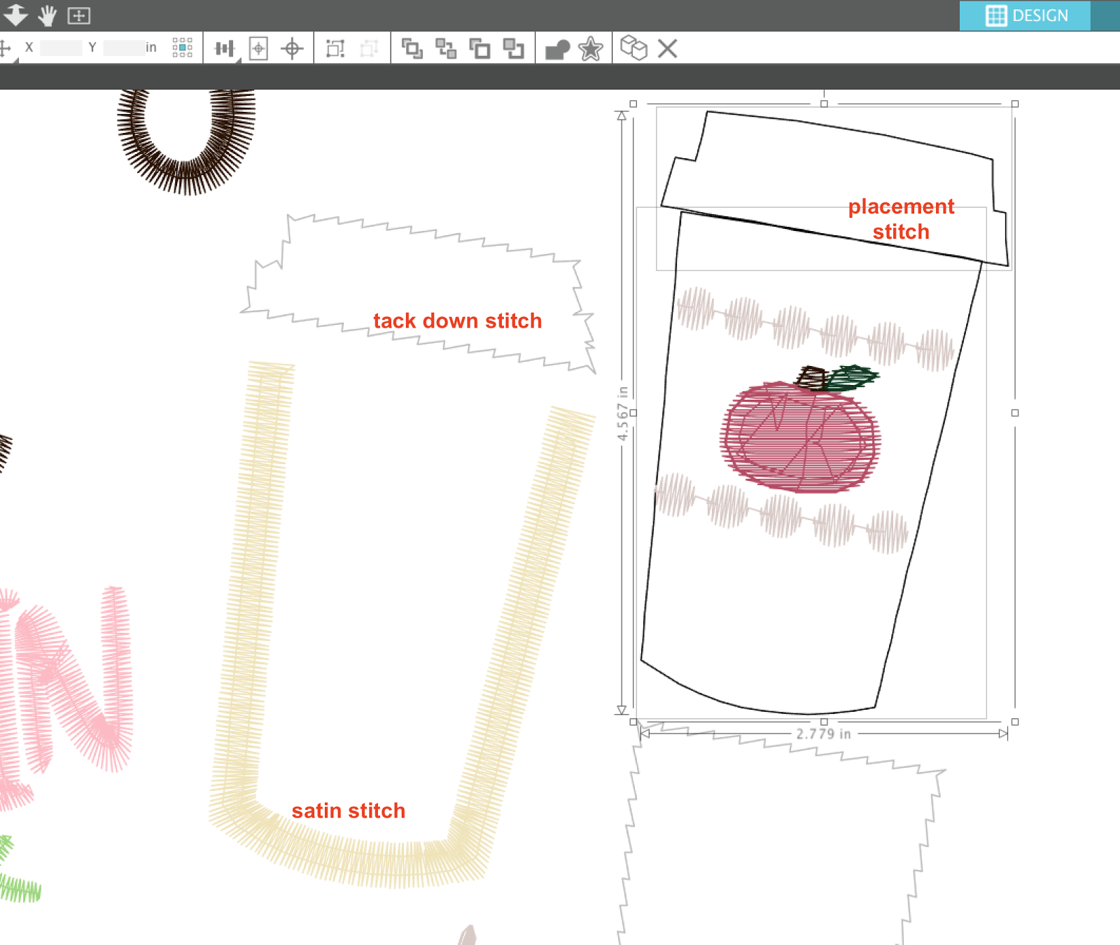 cutting embroidery applique files with silhouette cameo for