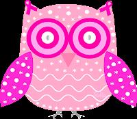 Câncer de mama laço outubro rosa coruja - Criação Blog PNG-Free