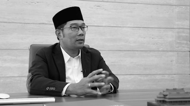 Soal Demokrasi, Pengurus HTI Kota Bandung: Jawaban Kang Emil Tidak Mendidik
