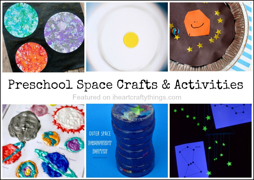 Preschool Space Crafts And Activities