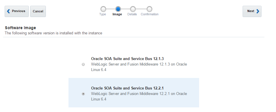 Oracle SOA Cloud Service Image