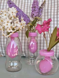 Vase ballon DIY