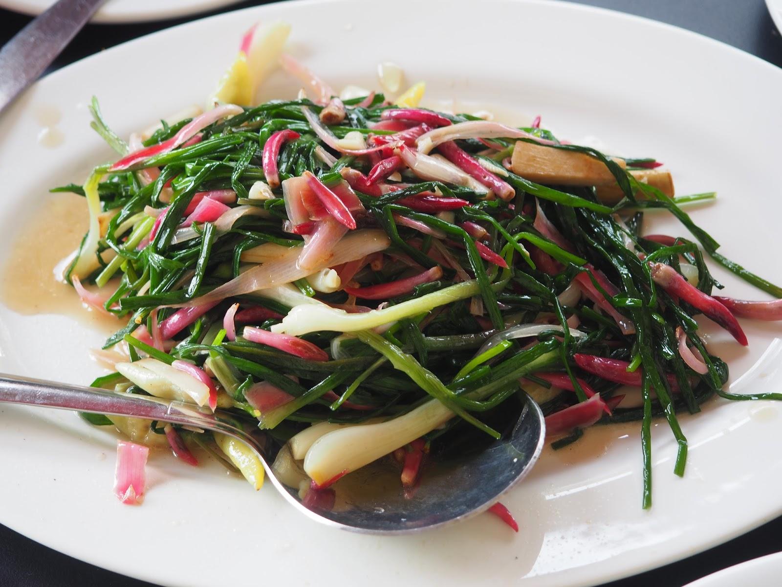 Malaysia borneo ranau kundasang vegetables foodie