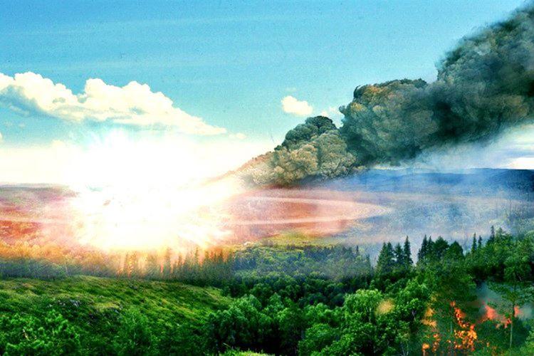 Tunguska Olayı ya da patlaması, 1908 yılında düşen bir göktaşından kaynaklanmıştı.