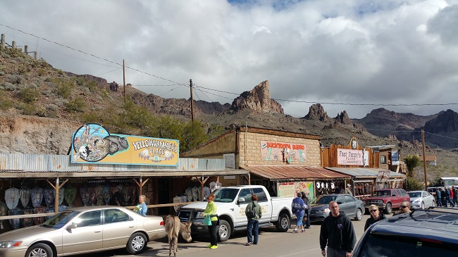 Oatman Arizona mining town