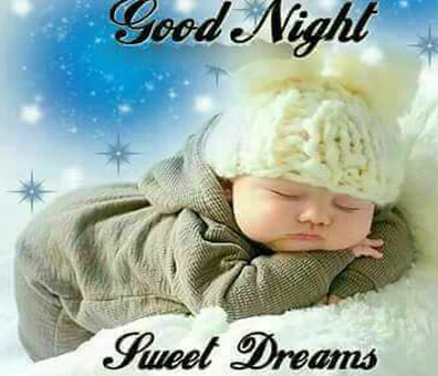 Good Night Sweet Dreams Baby Images for Friends