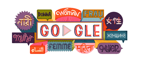 جوجل تحتفل باليوم العالمي للمرأة 2019