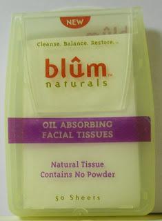 blum naturals oil absorbing cloths