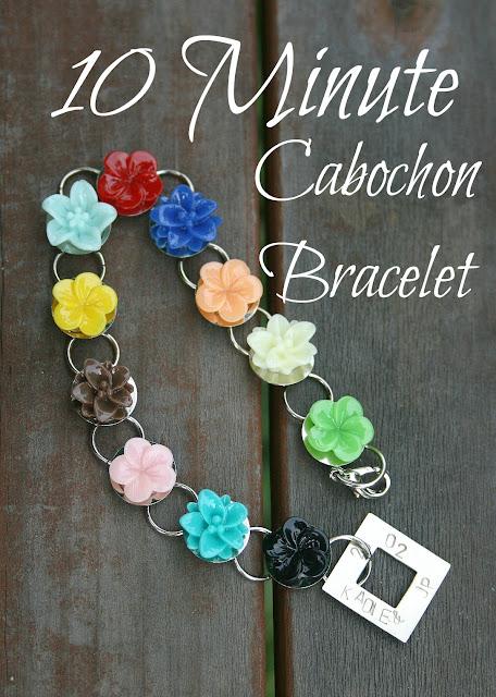 10 Minute Cabochon Bracelet