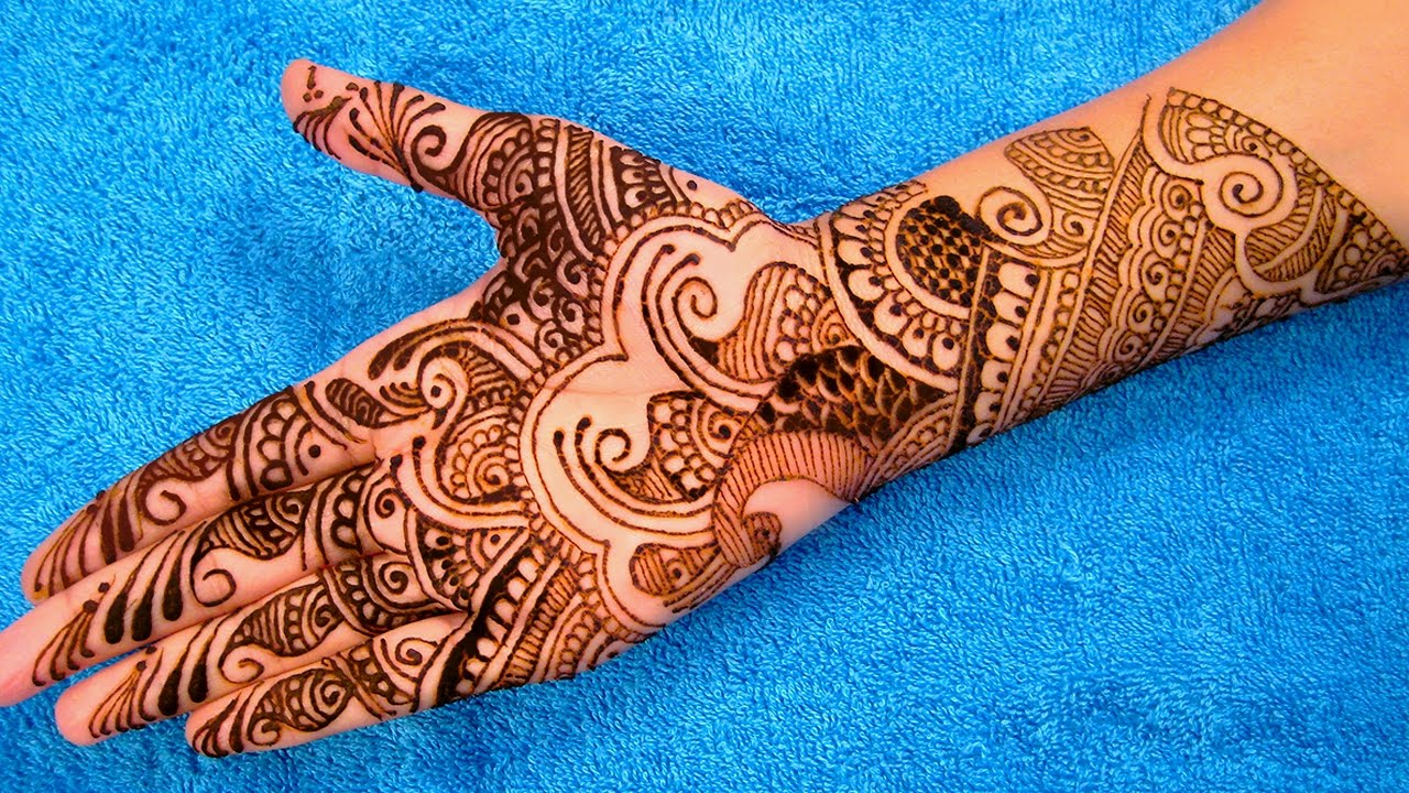 Mehndi Patterns Images : Mehndi designs videos lovely beautiful images