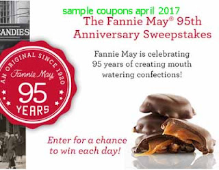 free Fannie May coupons for april 2017