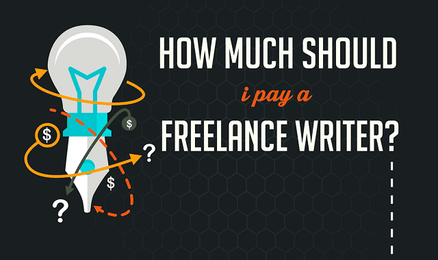 how much should i pay a lance writer infographic visualistan how much should i pay a lance writer infographic