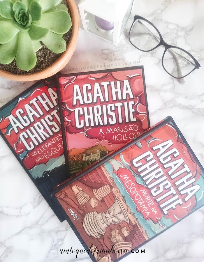 Livros do box 02 da Coleção Agatha Christie