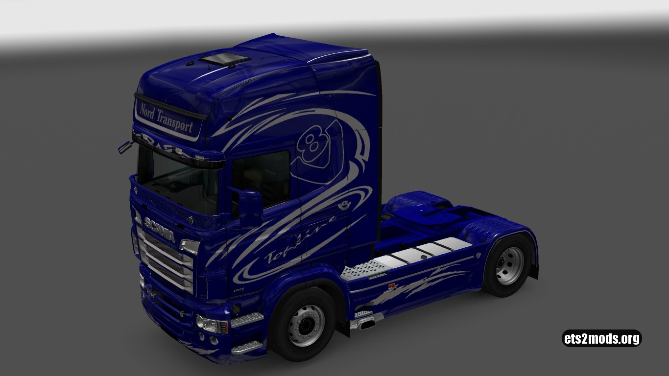 Scania RJL Blue Vabis Skin