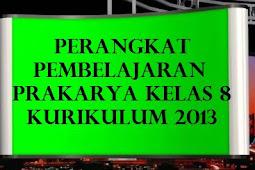 DOWNLOAD PERANGKAT K13 PRAKARYA KELAS 8 SMP