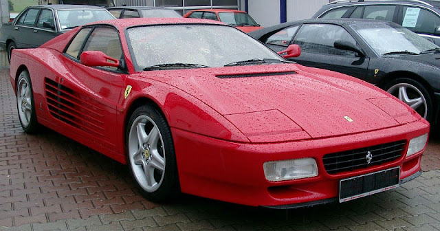 Ferrari Testarossa Italian classic supercar