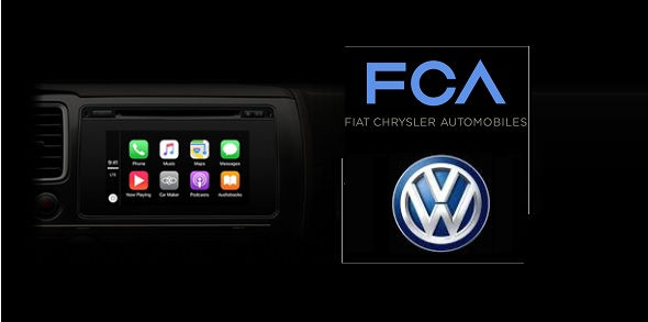 CarPlay in Fiat Chrysler and Volkswagen