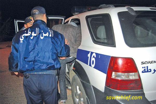 أمن بوقادير يوقف شقيقين متلبسين بترويج المخدرات