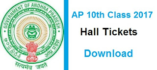 ap 10th hall tickets 2017 manabadi