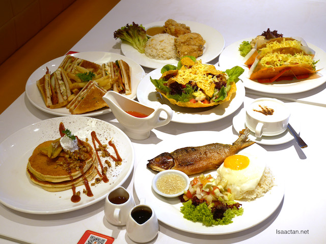 Sweet pancakes and savoury delights at Pancake House International