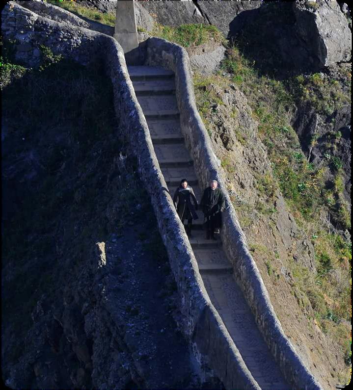 Veterano de cannas rodaje en gaztelugatxe bermeo juego for Escaleras juego de tronos