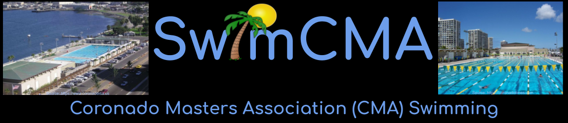 Coronado Masters Association (CMA)  Swimming