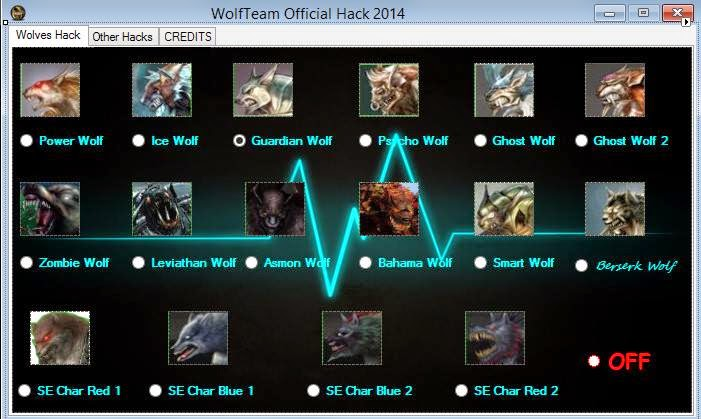 vomxxe Wolfteam Alemi Trainer Bahama ice Wolf Envanter Guardian RapidFire