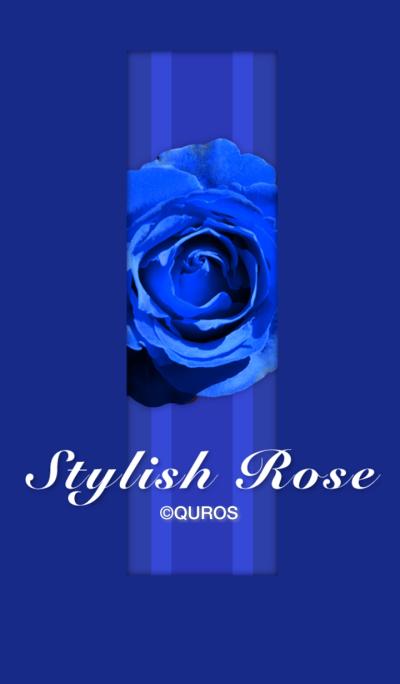 Stylish Rose (blue ver.)