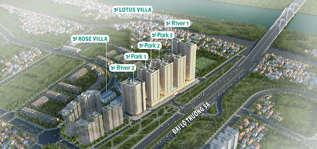Phân khu từng hạng mục dự án