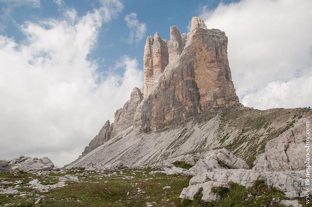 Visitar Dolomitas trekking Tres Cimas de lavaredo Italia