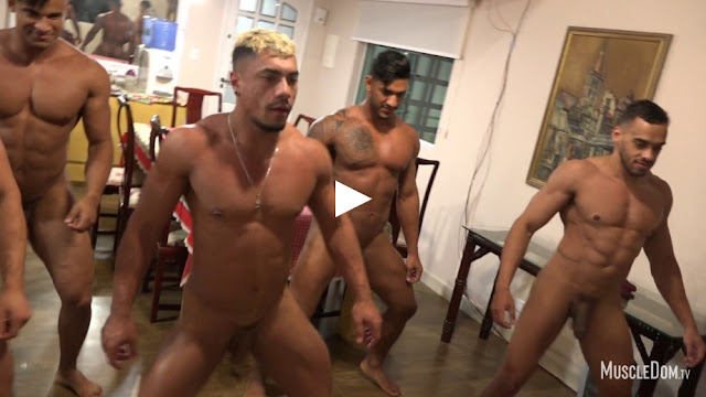 MuscleDom - Nude Aerobics