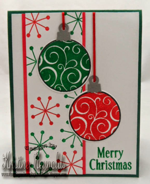 Stamping & Scrapping In California: More Ornaments And