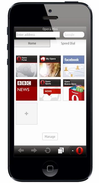 Download Opera Mini untuk iPhone Terbaru 2015