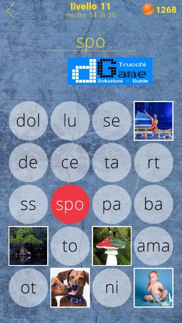 650 Parole soluzione livello 11 (1 - 25) | Parola e foto